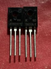 1coppia 2sb631k & 2sd600k transistor alta qualità B631k D600k Ktd600k Ktb631k
