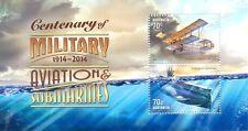 Australia-Military Aviation & Submarines new issue 2014 min sheet mnh