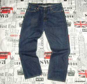 """mens *37-38""""W 31""""L Levi's 753 Comfort Fit JEANS Red Tab Indigo Blue Denim"""