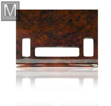 MERCEDES SL w107 r107 380sl 500sl radice legno pannello riscaldamento climatico LEGNO RADICE LEGNO