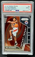 2019 Prizm Wizards RC Phenom RUI HACHIMURA Rookie Basketball Card PSA 9 MINT