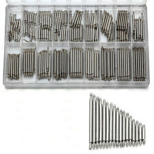 360pcs 1 Case Stainless Steel Watch Band Spring Bars Strap Link Pins Repair Tool
