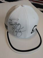 Rickie Fowler Autographed to Comedian Bob Ross Hat
