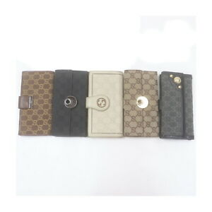 Gucci Long Wallet 5 pieces set Browns Canvas 2208846