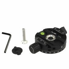 Boss Adapter + 58mm Panoramakopf für Manfrotto 498RC2 496RC2 494RC2 488 486 Arca