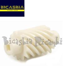 0136 - RINVIO INGRANAGGIO CONTACHILOMETRI BIANCO VESPA 125 150 200 PX NO ARCOBAL