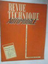 RTA Revue Technique Automobile Num 111 de 1955 Buick V 8,Peugeot Camionnette D3A