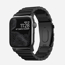 Nomad - Stainless Steel band for Apple Watch 42mm and 44mm - Black