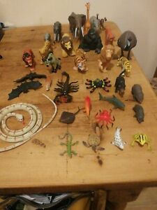 Job Lot 33 Zoo Animal Figures