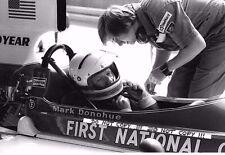 9x6 Photograph Mark Donohue  Penske-March 751 , Austrian GP Osterreichring 1975