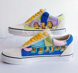 Old Skool The Simpsons Thebouviers Van's Size UK 6 New In Box