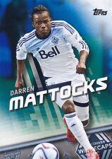 DARREN MATTOCKS 2016 TOPPS MLS BLUE PARALLEL #87/99 #7 VANCOUVER WHITECAPS FC