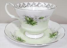 "Royal Albert English Bone China Rose Marie Series ""Noonday"" Tea Cup & Saucer"