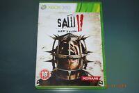 Saw II Flesh & Blood Xbox 360 UK PAL **FREE UK POSTAGE**