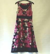 Monsoon Silk Floral Sleeveless Dresses for Women