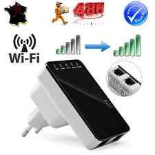 Amplificateur WIFI Extension Booster Signal Sans Fil Réseau 300Mbps AP Routeur