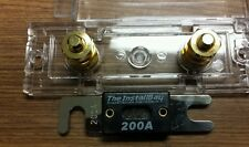 Anl fuse holder with 200 amp anl fuse inline Anl 0/2/4 Gauge
