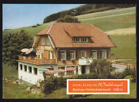 "tour. Prospekt, Breitnau Hochschwarzwald, Café - Pension ""Waldvogel"", um 1970"