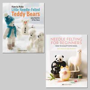 TWO BRAND NEW NEEDLE FELTING BOOKS - Search Press