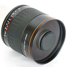500mm f/6.3 Mirror Manual Lens  For SONY Alpha  A300 A350 A700 A850 A900 Camera