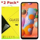 2-Pack Premium Tempered Glass Screen Protector For Samsung Galaxy A11