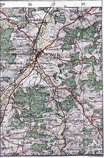 Aichach Pfaffenhofen Kühbach 1918 orig. Teilkarte/Ln. Tödtenried Laimering Wollo