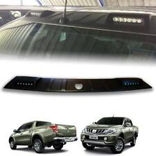 MATTE MATT BLACK ROOF SPOILER LED FRONT FOR MITSUBISHI TRITON L200 2015-2017