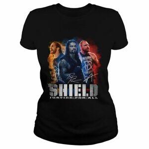 WWE The Shield Anniversary Roman Reigns Seth Rollins Jon T-Shirt Size S -5XL