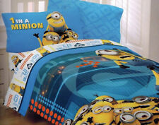 """Despicable Me Microfiber Twin Comforter 64""""x 86"""" NEW"""