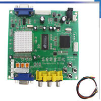 Latest GBS 8200 CGA/RGB/YUA to VGA Game Converter Supports All VGA Monitor US