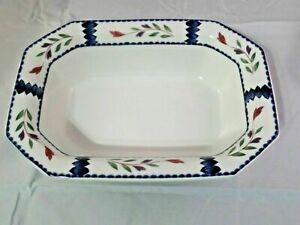 "Adams LANCASTER English Ironstone - Rectangular Serving Dish Bowl 10"" x 7"""
