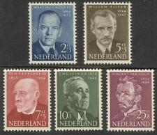 NVPH 641-645 Zomer 1954 postfris (MNH)