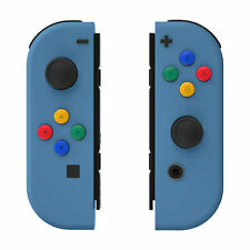 Airforce Blue Controller Housing Shell Full Buttons for Nintendo Switch Joy-Con