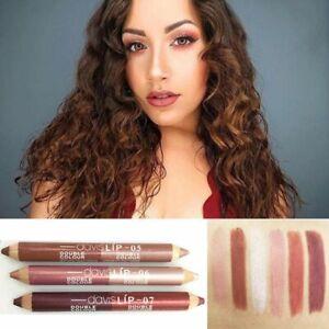 Moisturizer Matte Double Color Lip Liner Pencil Lipstick Waterproof Lip Stain