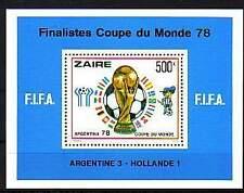 Zaire Michelnummer Block 19  postfrisch