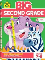 School Zone - Big Second Grade Workbook - Ages 7 to 8