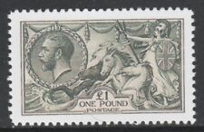 Great Britain (164) 1913 KG5 £1 Seahorse - a Maryland FORGERY unused