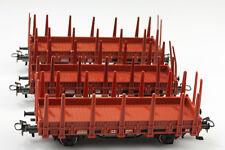 Märklin H0 4459 3 Niederbord Rungenwagen DB 3361494-0 Schmutz/Kratzer ohne OVP