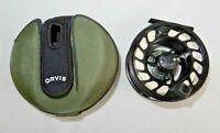 Orvis Mach IV Fly Reel W/Case Black Color 7wt line GT#34