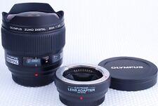 Olympus Zuiko Digital 8mm F3.5 Fisheye lens. Four thirds system.