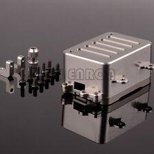 CNC Upgraded Radio Box For Aluminum RC 1:10 Axial SCX10 AX80028
