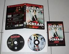 2 Dvd SCREAM 1 e SCREAM 2 – Horror 2002 RARO Fuori catalogo Wes Craven