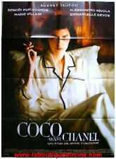 COCO AVANT CHANEL Affiche Cinéma 160x120 Movie Poster AUDREY TAUTOU