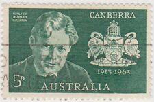 (AUZ225) 1963 AUSTRALIA 5d green WB Griffin ow350