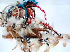 12x SET Wholesale LOT Handmade Hanging Natural Feather Dream Catcher Traditional
