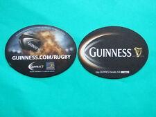 ►►Irish coaster GUINNESS RUGBY LEINSTER ~  IRELAND COASTER / BEER MAT