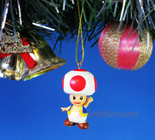 Decoration Ornament Home Decor Xmas Tree SUPER MARIO BROS BROTHERS Toad *R126