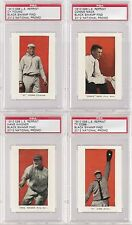 SPORTS CARD COLLECTION BLACK SWAMP FIND TY COBB CY YOUNG MACK WAGNER PSA LOT 4