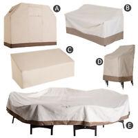 Furniture Cover Protector Waterproof Heat 600D Oxford Cloth Beige