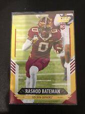 2021 Score #327 Rashod Bateman Minnesota Gophers Rc Rookie - Gold Parallel Nm/Mn